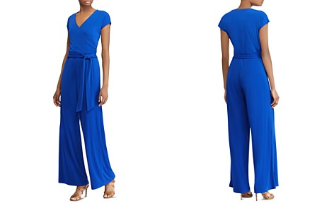 Lauren Ralph Lauren Belted Wide-Leg Jumpsuit - Bloomingdale's_2