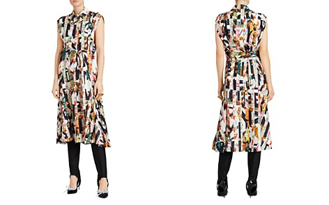 Burberry Sacha Silk Mixed Graffiti Print Dress - Bloomingdale's_2