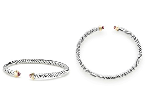David Yurman Cable Kids Birthstone Bracelet with Pink Tourmaline & 14K Gold - Bloomingdale's_2