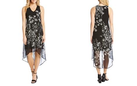 Karen Kane Floral-Print High/Low Dress - Bloomingdale's_2