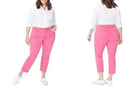 NYDJ Plus Sheri Slim Frayed Ankle Jeans in Begonia - Bloomingdale's_2