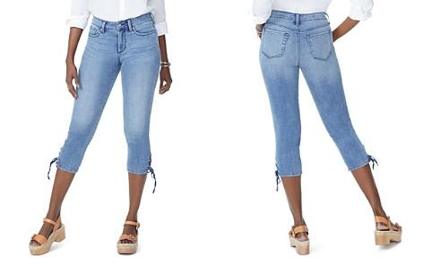 NYDJ Lace-Up Hem Capri Jeans in Point Dume - Bloomingdale's_2