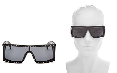 Moschino Women's 004 Shield Sunglasses, 99mm - Bloomingdale's_2