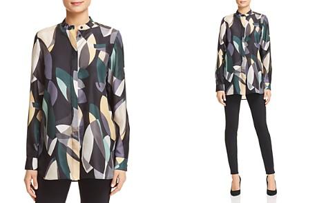 Lafayette 148 New York Brayden Printed Silk Blouse - Bloomingdale's_2
