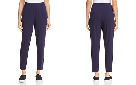 Eileen Fisher System Slim Ankle Slouchy Pants - Bloomingdale's_2