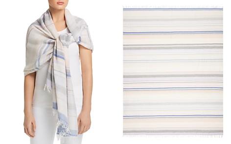 rag & bone Lurex Stripe Scarf - Bloomingdale's_2