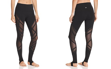 Alo Yoga High-Waist Wrapped Stirrup Leggings - Bloomingdale's_2