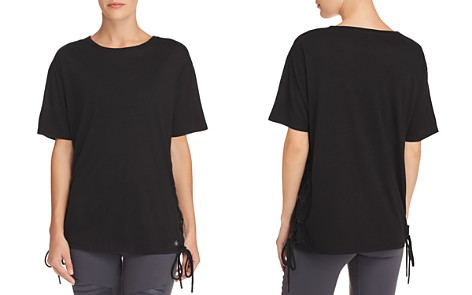 Alo Yoga Bliss Lace-Up Tee - Bloomingdale's_2