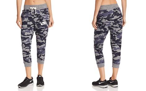 Nike Gym Vintage Camo Cropped Sweatpants - Bloomingdale's_2
