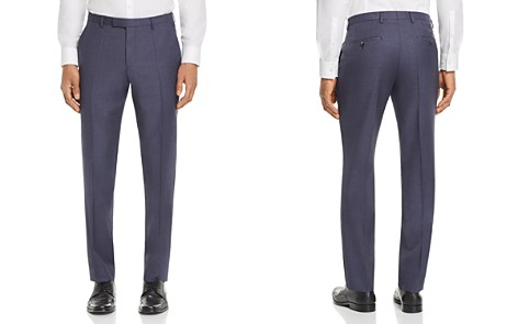 BOSS Leenon Regular Fit Small Check Dress Pants - Bloomingdale's_2
