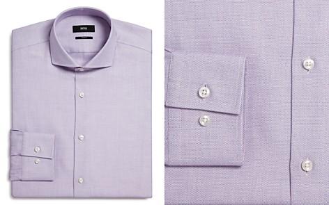 BOSS Textured Slim Fit Dress Shirt - Bloomingdale's_2
