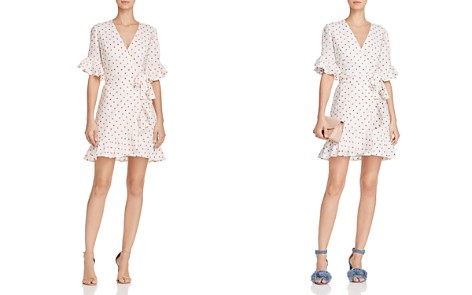 WAYF Kaitlyn Ruffled Embroidered Wrap Dress - Bloomingdale's_2