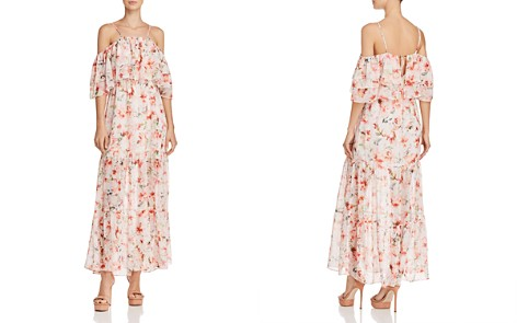 BB DAKOTA Tae Tiered Floral Print Maxi Dress - Bloomingdale's_2