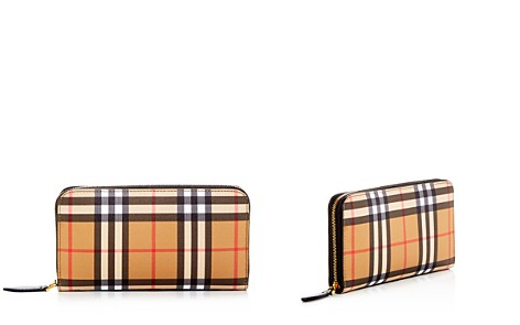 Burberry Vintage Check Elmore Zip Around Wallet - Bloomingdale's_2