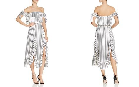 MISA Los Angeles Rosa Off-the-Shoulder Dress - Bloomingdale's_2