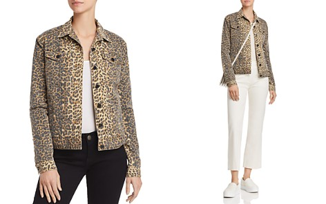 ATM Anthony Thomas Melillo Leopard-Print Denim Jacket - Bloomingdale's_2