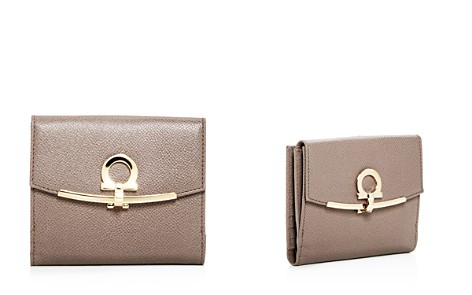 Salvatore Ferragamo Gancio Clip French Bi-Fold Leather Wallet - Bloomingdale's_2