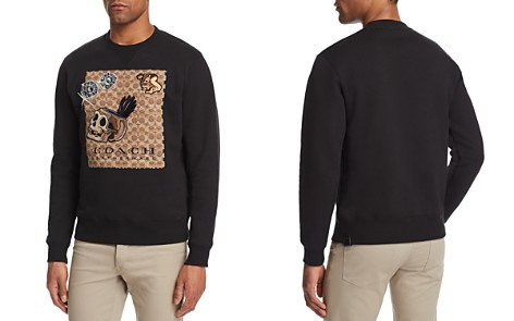 COACH x Disney A Dark Fairy Tale Graphic Sweatshirt - Bloomingdale's_2