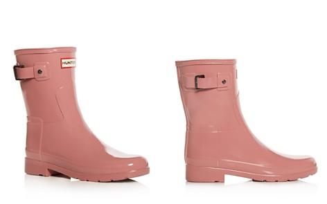 Hunter Women's Original Refined Short Gloss Rain Boots - Bloomingdale's_2
