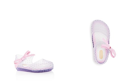 Mini Melissa Girls' Mini Furadinha X Perforated Mary Jane Flats - Walker, Toddler - Bloomingdale's_2