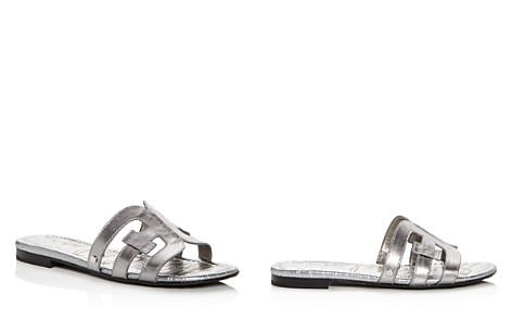 Sam Edelman Women's Bay Leather Slide Sandals - Bloomingdale's_2