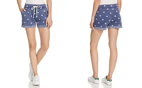 ALTERNATIVE Star Print Shorts - Bloomingdale's_2