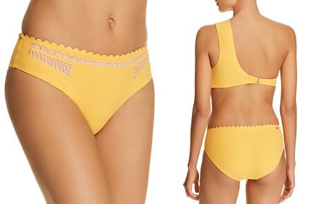 Red Carter Peek-A-Boo Bikini Bottom - Bloomingdale's_2