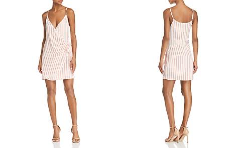 Sage the Label Aurelia Striped Mini Wrap Dress - Bloomingdale's_2
