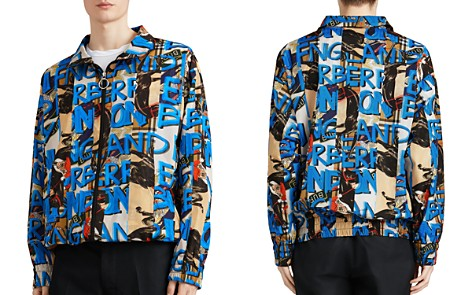 Burberry Peckham Mixed-Print Jacket - Bloomingdale's_2