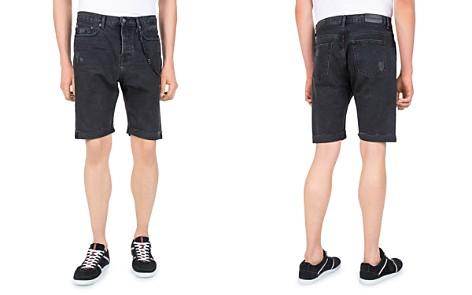 The Kooples Destroy Denim Shorts - Bloomingdale's_2
