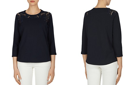 Gerard Darel Pia Lace-Inset Top - Bloomingdale's_2
