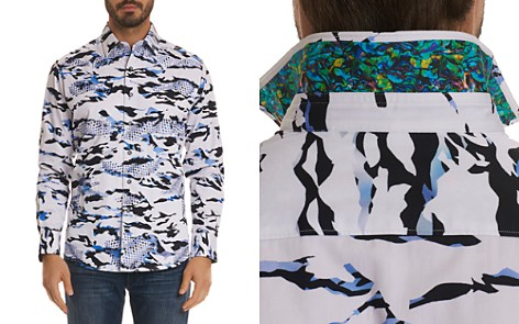 Robert Graham Scales Pattern Regular Fit Button-Down Shirt - Bloomingdale's_2