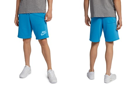 Nike Faded Wash French Terry Shorts - Bloomingdale's_2
