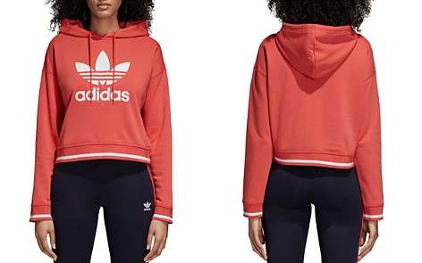 adidas Originals Active Icons Cropped Hooded Sweatshirt - Bloomingdale's_2