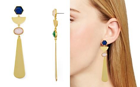 kate spade new york Geometric Linear Drop Earrings - Bloomingdale's_2