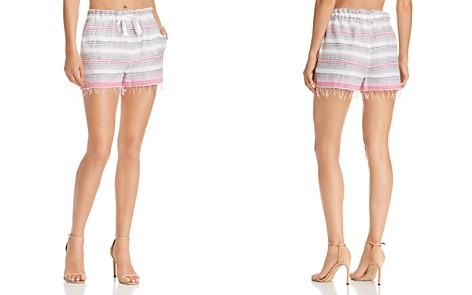 Lemlem Striped Fringe-Trim Shorts - Bloomingdale's_2