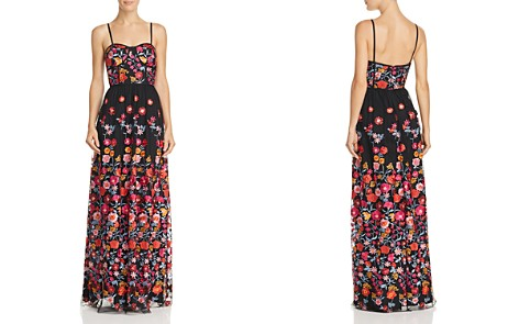 Aidan by Aidan Mattox Embroidered Bustier Gown - Bloomingdale's_2