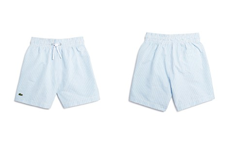 Lacoste Boys' Seersucker Swim Trunks - Little Kid, Big Kid - Bloomingdale's_2
