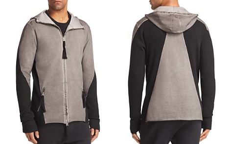 thom/krom Long Hooded Paneled Jacket - Bloomingdale's_2