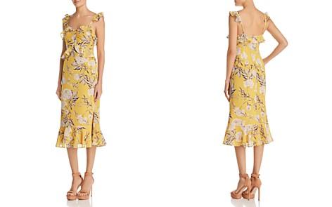 Lucy Paris Marissa Ruffled Floral Midi Dress - Bloomingdale's_2