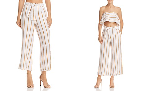 Faithfull the Brand Como Striped Crop Pants - Bloomingdale's_2