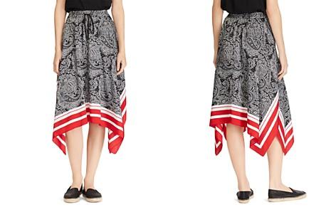 Lauren Ralph Lauren Printed Drawstring Handkerchief Skirt - Bloomingdale's_2