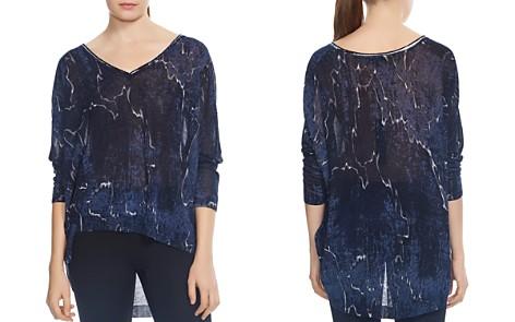 HALSTON HERITAGE Printed High/Low Sweater - Bloomingdale's_2