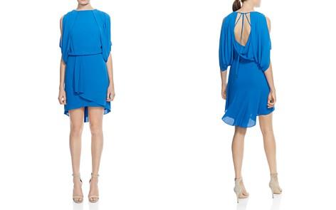 HALSTON HERITAGE Draped Cowl-Back Dress - Bloomingdale's_2