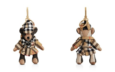 Burberry Thomas Bear Charm in Check Trench Coat - Bloomingdale's_2