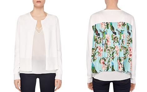 Ted Baker Ferliss Nectar Back-Pleat Cardigan - Bloomingdale's_2