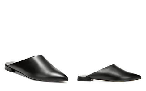 Vince Women's Danna Leather Pointed Toe Mules - Bloomingdale's_2