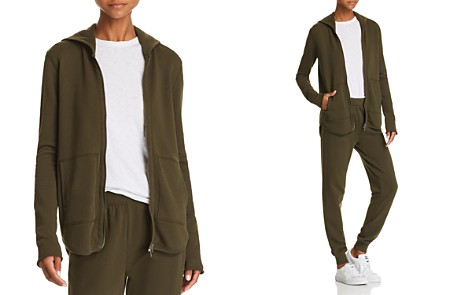 ATM Anthony Thomas Melillo Zip-Front Hoodie - Bloomingdale's_2