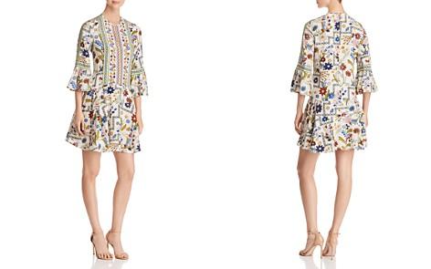 Tory Burch Daphne Botanical Print Silk Dress - Bloomingdale's_2