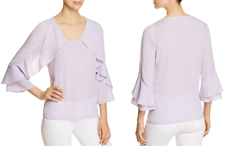 Le Gali Annie Ruffle-Sleeve Blouse - 100% Exclusive - Bloomingdale's_2